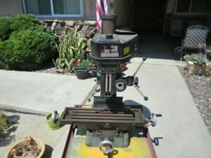 Milling Machine Bench Mill Table Top Mill 110 120 Volt R8 Benchtop Xlt Condition