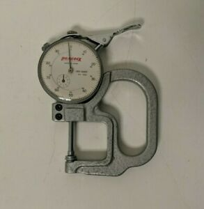 Vintage Peacock Dial Thickness Gage 001 1 000 20 333 Made In Japan