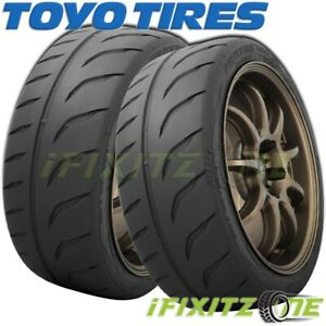 2 Toyo Proxes R888r 255 40zr17 98w Xl Ultra High Performance Uhp Tires