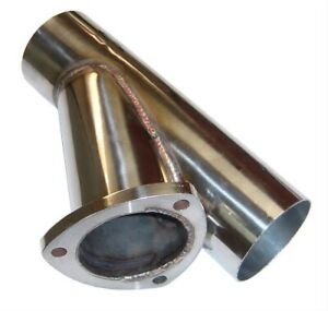 Pypes Stainless Steel Y Exhaust Cutout 3 Inch Diameter Pipe Yvx13s