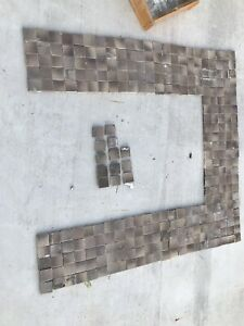 Antique Vintage Victorian Fireplace Tiles Mantle Hearth 303 Pieces
