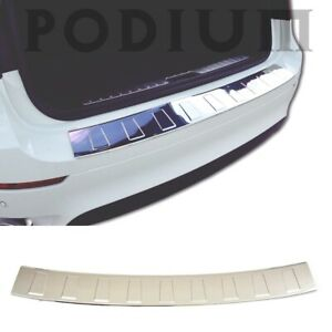 Chrome Rear Bumper Protector Scratch Guard S steel For Bmw X3 F25 2010 2017