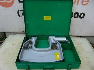 Greenlee 1732 Hydraulic Knockout C frame Punch Drive 1 2 To 4 Inch W Case