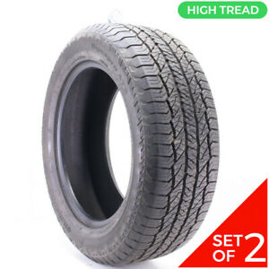 Set Of 2 Used 275 55r20 Hankook Dynapro At2 113t 10 11 32