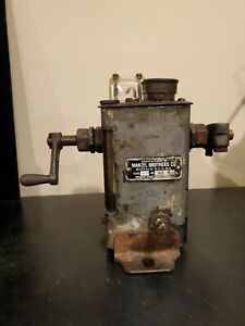 Manzel Brothers Co Model Xd No 901 r Hit Miss Lubricator Steam Engine