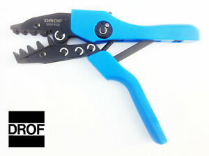 Drof Crimping Pliers 6 1 0 Awg Ratcheting Mechanical Crimper Tool Terminals Et