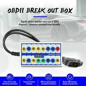 Obd2 Protocol Detector Break Out Box Tester Breakout Box With High Quality