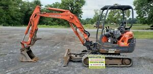 2011 Kubota Kx91 3s2 Mini Excavator Hydraulic Thumb Angle Blade Just Serviced