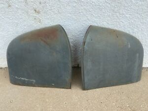 Chevy Front Fender Door Extension Left And Right Pair 1946 1947 1948 46 47 48