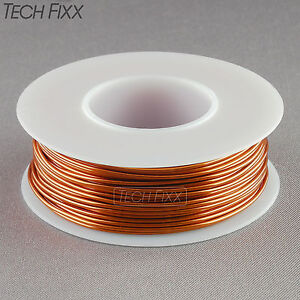 Magnet Wire 17 Gauge Awg Enameled Copper 40 Feet Coil Winding And Crafts 200c