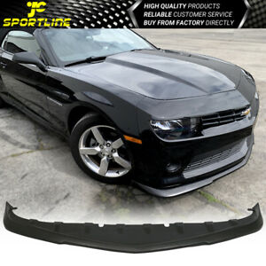 Fits 14 15 Chevy Camaro V6 Lt Rs Oe Factory Style Gfx Front Lip Spoiler Pu