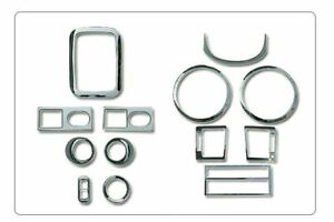 Chrome interior Molding Set For kia Sorento 2002 2005