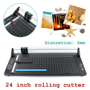 24 Inch Rotary Paper Cutting Trimmer Automatic Paper weighting Cut Ten Paper