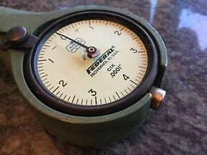 Machine Shop Federal Dial Bore Gage Dial Indicator 1201 P2 R4 1 1 4 To 2 1 4