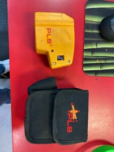 Pacific Laser Systems Pls 5 Red Point Laser Level With Case 1 l415018b