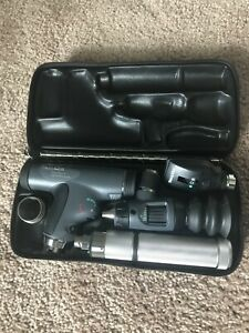 Welch Allyn Enhanced Diagnostic Set W Panoptic Ophthalmoscope Etc Barely Used