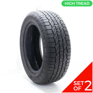 Set Of 2 Used 275 55r20 Hankook Dynapro At2 113t 10 5 32