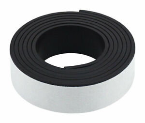 Master Magnetics 30 In Ferrite Powder rubber Polymer Resin Strip Magnetic Ta