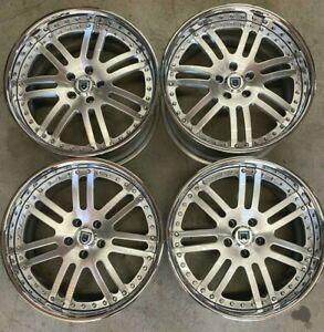 Asanti Wheels Rims 19 Inch 5x112 18 Machine Clear Chrome Lip