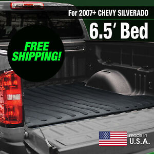 Boomerang Rubber Bed Mat For 2007 Chevy Silverado 6 5 Ft Bed Free Shipping