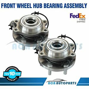 Front Wheel Hub Bearing Assembly For Nissan Frontier Xterra 4wd 2005 2016 Pair