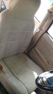 Manual Seats Front Set Xj Jeep Cherokee 1993 1994 1995 1996 Beige Pick Up Only