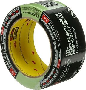 3m 03435 One Roll 233 Green Automotive Performance Masking Tape 1 41 X 35 Yds
