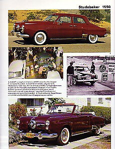 1950 Studebaker Convertible Article Must See