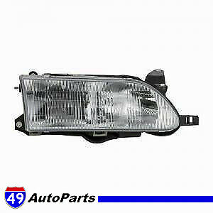 Front Headlight Cover Assembly Right Passenger 93 97 Toyota Corolla To2502107
