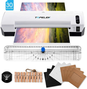 5 In 1 Laminator Machine 9 Inchs Thermal Laminator With 30 Laminating Pouches Pa