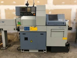 Star Sb16 d Swiss Type Cnc Lathe 2008 W Barfeed Fanuc Live Tool sub spindle