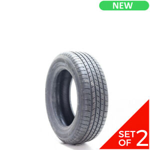 Set Of 2 New 205 60r16 Michelin Defender 92t 10 32