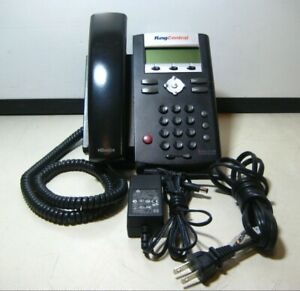Lot Of 10 Ring Central Polycom Soundpoint Ip 335 2 line Voip Business Phones