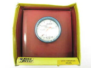 Auto Meter 4535 Mechanical 2 5 8 Water Temp Gauge Ultra nite Glow in dark
