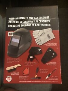 New Lincoln Electric Auto darkening Welding Helmet Starter Kit With No 11 Lens