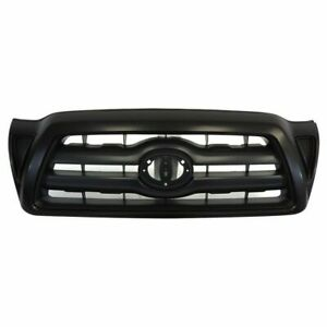 New Black Grille For 2005 2011 Toyota Tacoma To1200269 Ships Today