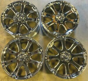 Atx Wheels Rims 20 Inch 5x127 Chrome Jeep Grand Cherokee Newer Dodge Durango