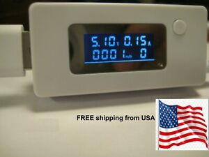 Usb Port Voltage Current Measurement Charger Detector Tester Free Ship From Usa