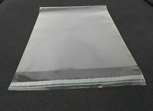 Clear Cello Bags 6 X 9 1 2 Resealable Cellophane Opp Poly Sleeves Packing Mask
