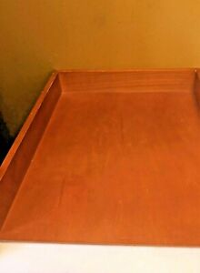 Milano Desk Paper Or Letter Tray Holder America Maple Wooden Office 10 X 12