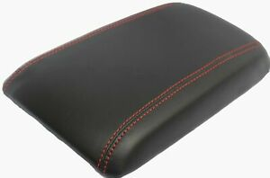 Real Leather W red Stitch Center Console Armrest Cover Fits 04 06 Pontiac Gto