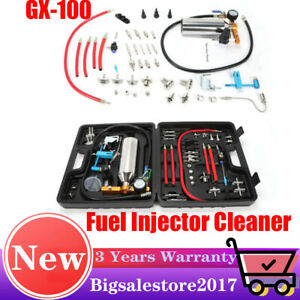 Gx100 Fuel Injector Cleaner Tool Automotive Non dismantle Tester Fuel System Usa