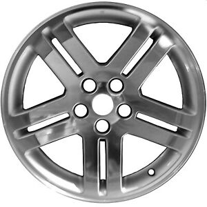 Polished And Painted 5 Double Spoke 18x7 5 Factory Wheel 2006 2009 Dodge Charger