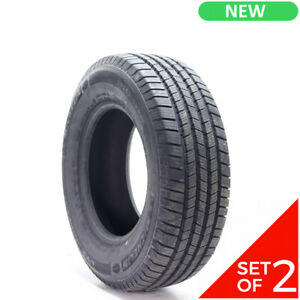 Set Of 2 New Lt 265 70r17 Michelin Ltx Winter 121 118r 14 32