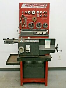 Performance All Tool Disc Drum Brake Lathe W Bench And Adapter Kit Tooling