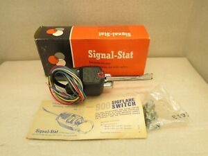 Vintage Signal Stat 900 Sigflare Switch Assembly Rat Rod Rat Truck New In Box