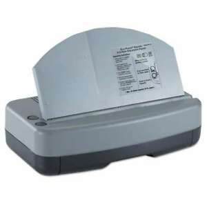 Officemate Electric 2 3 Hole Adjustable Eco punch 9 32 Hole Dia 042491901152