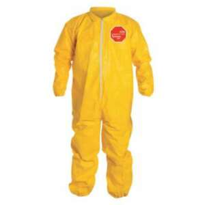 Dupont Tychem Qc Coveralls With Elastic Wrists And Ankles 888120006962