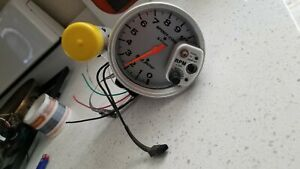 Autometer Sport Comp Silver Tach With Pro Shift Lite