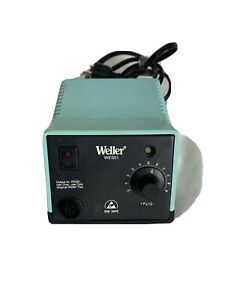 Weller Wes51 Analog Soldering Station With Iron